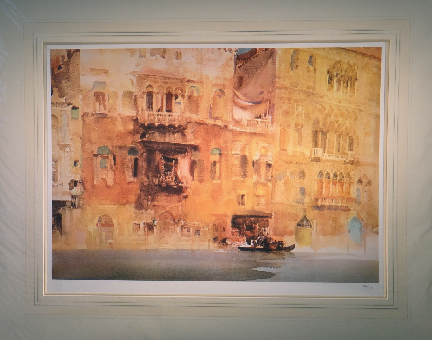 limited edition print, Palazzo on the Grand Canal, sir william russell flint