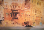 sir william russell flint the palazzo on the Gand Canal limited edition print
