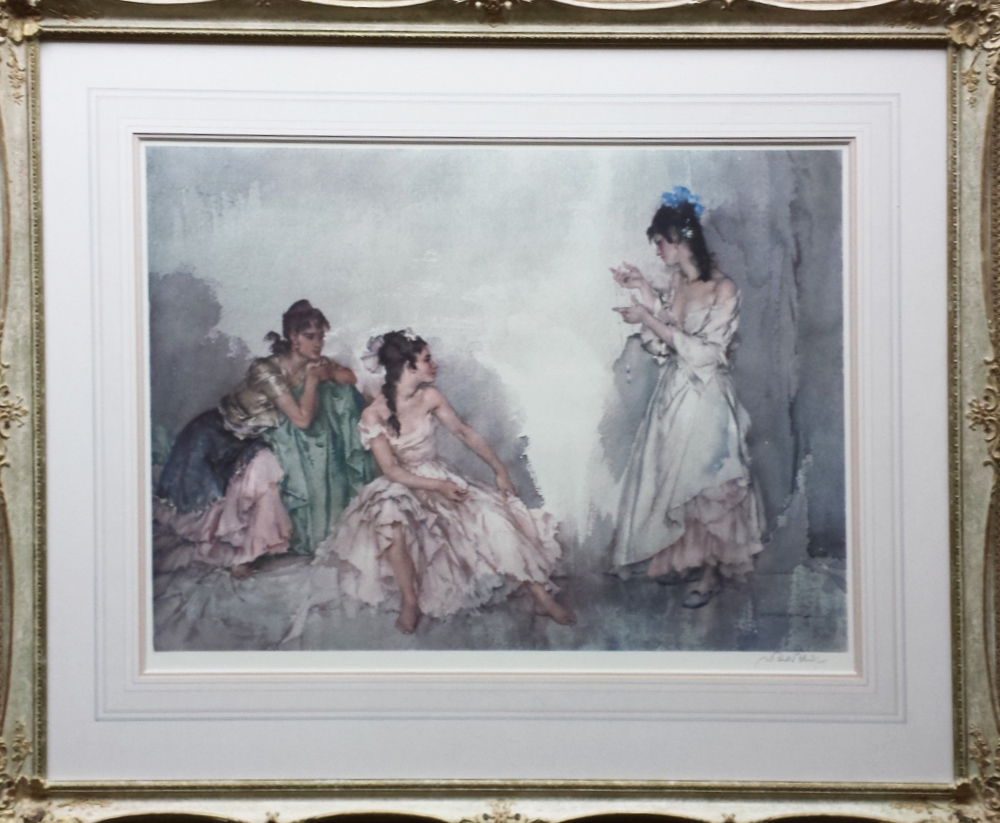 limited edition print, pendant, sir william russell flint
