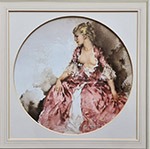 sir william russell flint Ray as Madame Pompadour limited edition print
