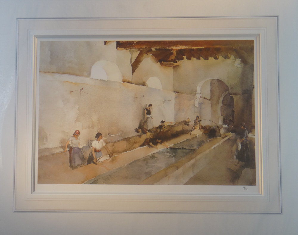 russell flint ripples and chatter print