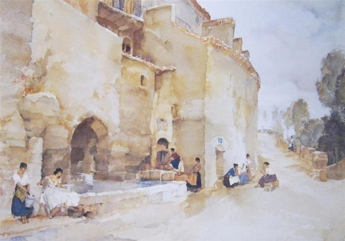 sir william russell flint rival tale bearers