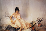 sir william russell flint Sensitive Plants limited edition print