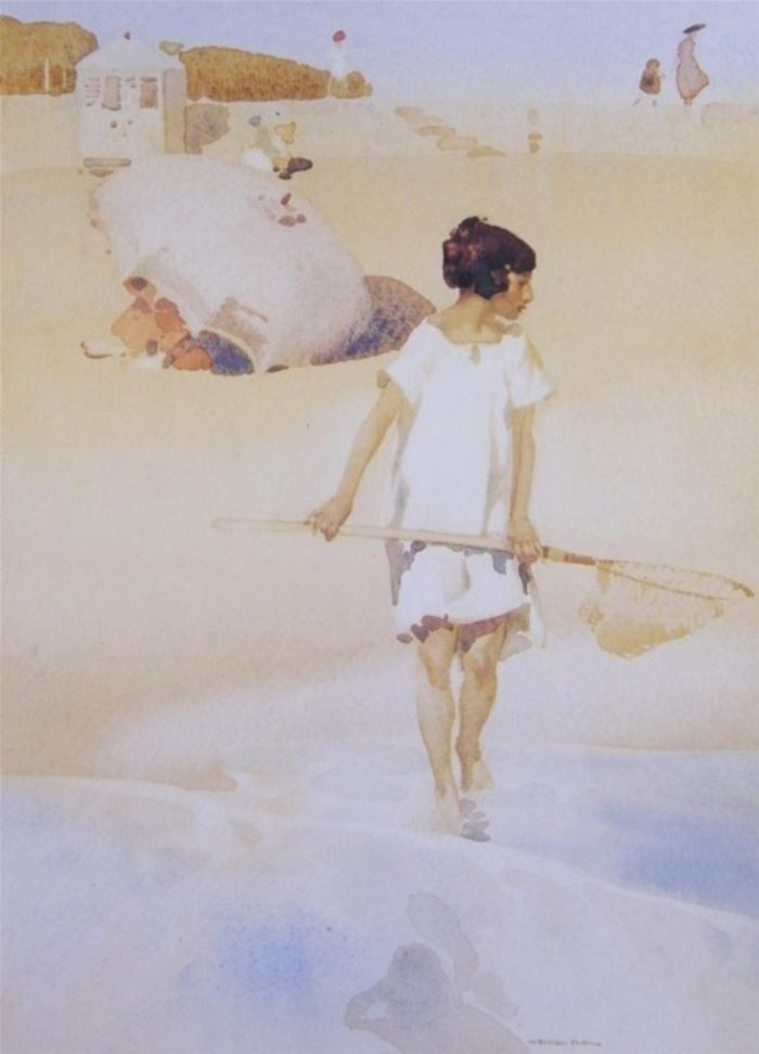 sir william russell flint Shrimpgirl