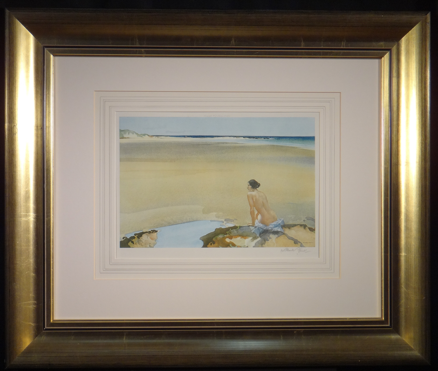 signed limited edition print, Araminta, sir william russell flint