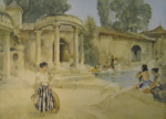 sir william russell flint, an awkward encounter, signed limited edition print