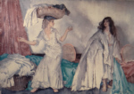 sir william russell flint, balance, signed limited edition print