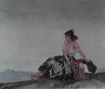 sir william russell flint, Carmelita, signed limited edition print