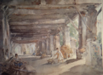 sir william russell flint Gossip after market Perigord signed limited edition print