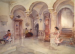 sir william russell flint la marie Manosque signed limited edition print
