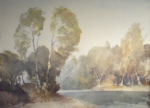 sir william russell flint October morning on the Baise signed limited edition print