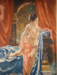 sir william russell flint Susanna signed limited edition print