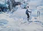 sir william russell flint Snow, limited edition print