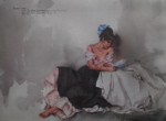 sir william russell flint Sonnet XXIV, limited edition print