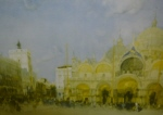 sir william russell flint St. Marks Venice signed limited edition print