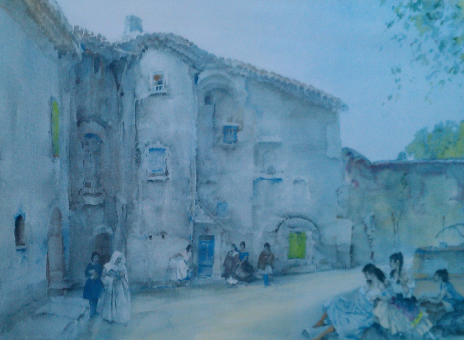russell flint three groups viviers