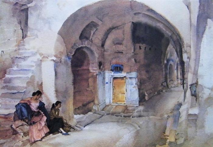 sir william russell flint unexplored city calendar print