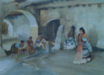 sir william russell flint unwelcome observers signed limited edition print