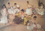 sir william russell flint Variations III limited edition print