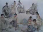 sir william russell flint Variations on a Theme signed limited edition print
