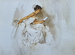 sir william russell flint, Vignette, limited edition print